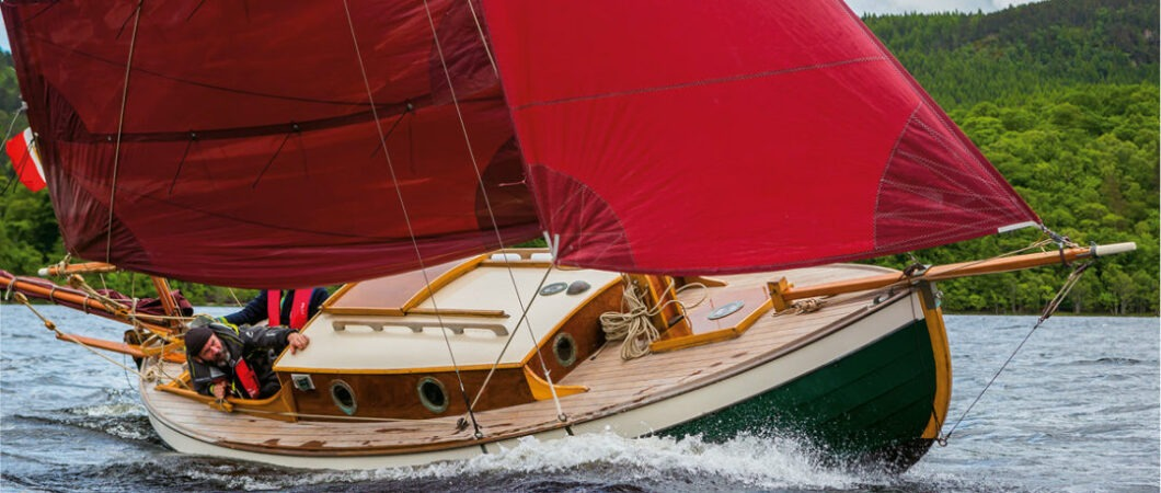 Tre uomini in barca in Caledonia